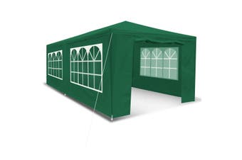 3x6M Outdoor Party Wedding Tent Canopy Gazebo with Walls   Green