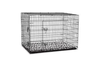48 inch  XL Dog Crate Cage   Black