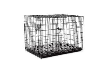 "42"" XL Dog Crate Cage   Black"