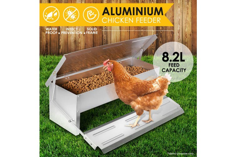 8.2L Automatic Self opening Chicken Feeder