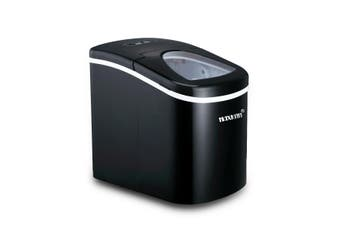 Portable Ice Maker Machine Black Coated 2.4 L