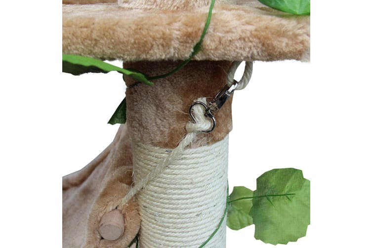 Beige Car Tree Scratcher Condo Poll 155CM Medium