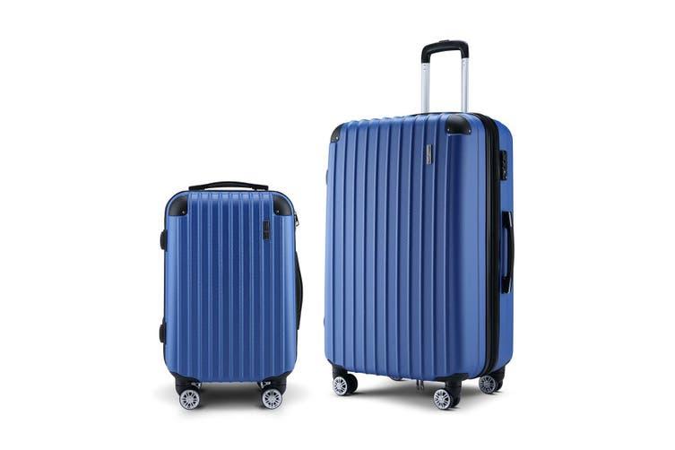 Buon Viaggio 2 Luggage Set with TSA Lock   Blue