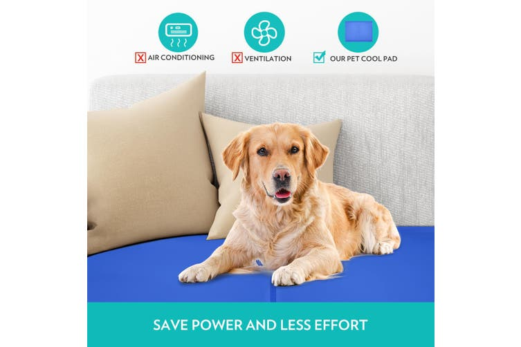Dog Cooling Mat Ideal for Home & Travel L size
