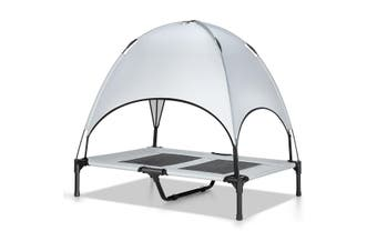 Heavy Duty Pet Trampoline Cot with Cot Canopy Large