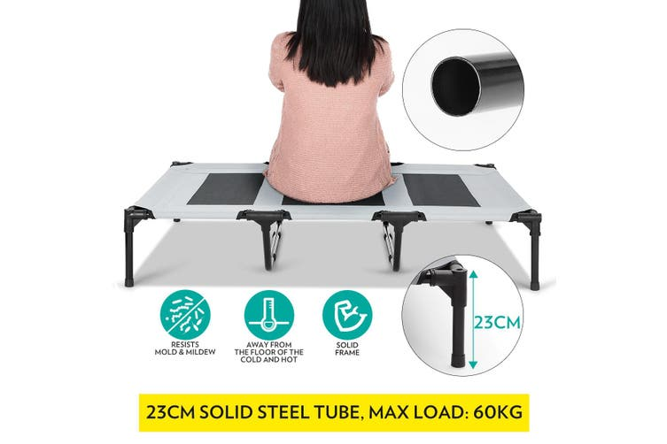 Extra Large Dog Bed Trampoline Elevated Pet Cat Cot