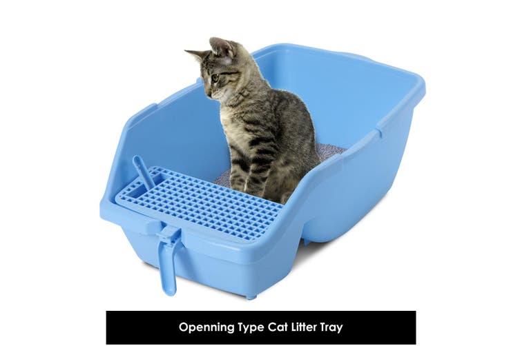 Cat Toilet Trainer with Flap Door