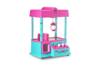 Claw Machine Arcade Crane Game Toy Machine Candy Grabber Machine with LED Lights