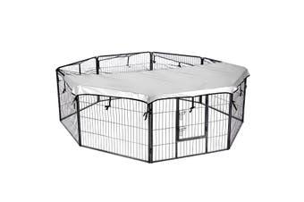 8 Panel Pet Playpen Cat Dog Enclosure XL