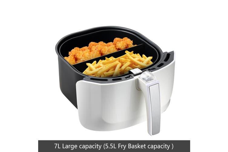 7L Maxkon OiL Free Air Fryer Cooker 1800W  White