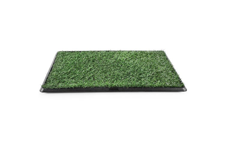 Pet Dog Toilet Potty Tray Training Grass Mat