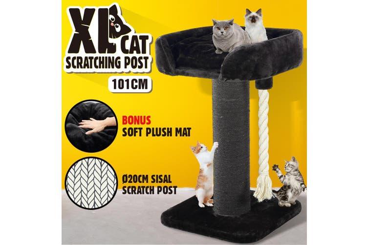 101CM Cat Scratcher Pet Climbing Frame Scratching Post Tree