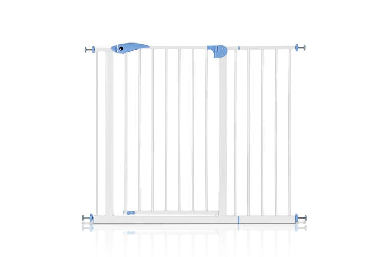Baby Pet Safety Gate with 80 to 120cm   White
