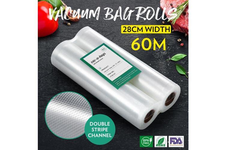 Vacuum Seal Bags Food Storage Vacuum Bags Vacuum Sealer Rolls 28cm*600cm X10