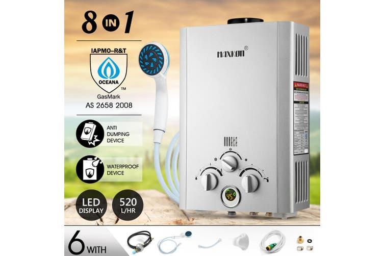 MAXKON 520L per Hr Portable Outdoor Gas Water Heater