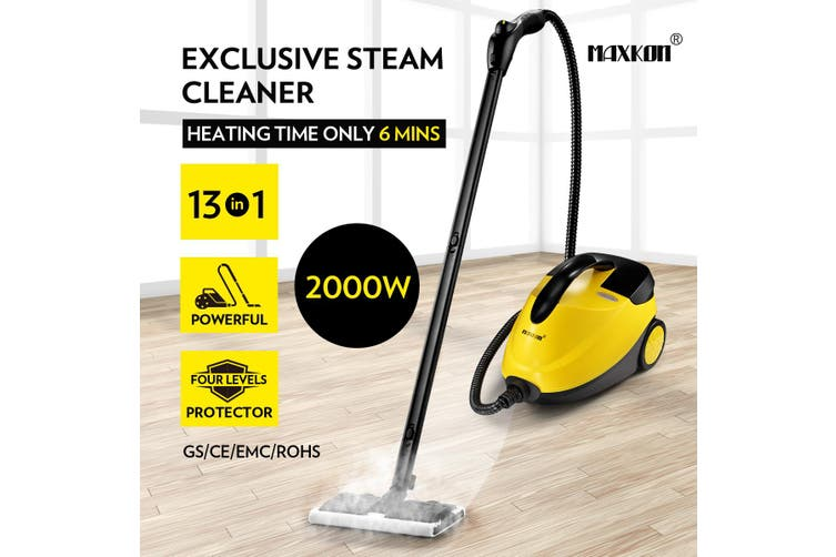 Maxkon 2000W Powerful Multi Function Steam Cleaner Mop