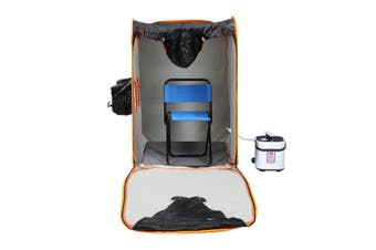 Portable Steam Sauna Pop Up Home Spa Steamer Tent with Remote Control