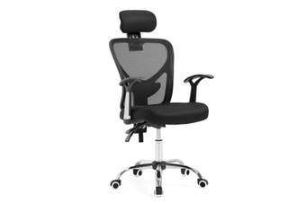 Reclining Mesh Ergonomic office computer chair   Black
