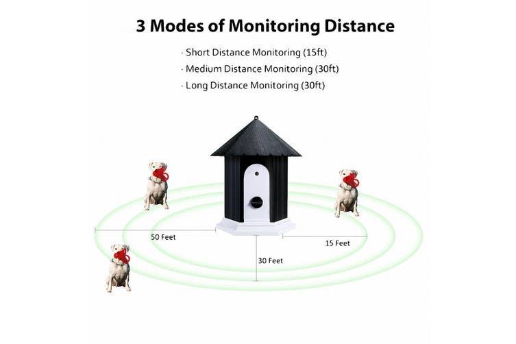 Outdoor Humane Ultrasonic Barking Control System   15m Range