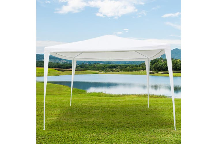 3x3m Outdoor Fully Waterproof Party Marquee Tent White