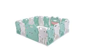 ABST 16PCS Kids Playpen Baby Enclosure Safety Panel