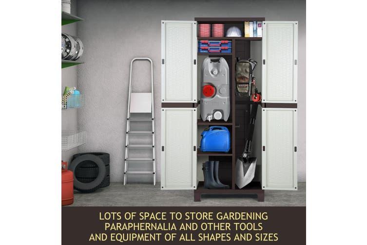 Shogun Outdoor Storage Cabinet Vertical Tool Shed 173CM
