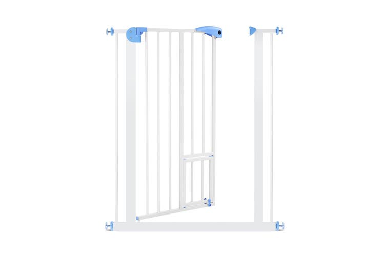 79cm High 75 85cm Wide Adustable Baby Safety Gate Dog Stair Barrier