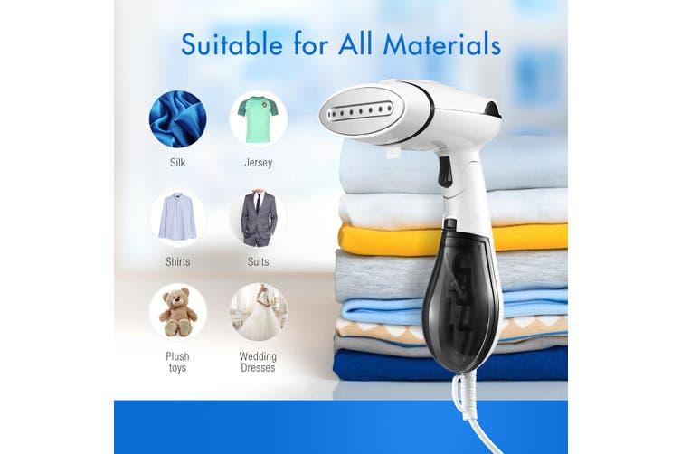 Portable Handheld Clothes Garment Fabric Steamer Black 1300W
