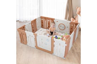 Baby Playpen 16 Panel Safety Play Room Kids Activity Centre