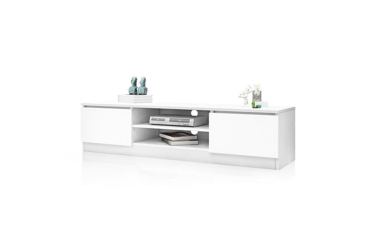 Wooden TV Entertainment Cabinet 160cm   White