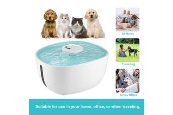 Auto Pet Drinking Fountain Cat Feeder Dog Water Dispenser   2L