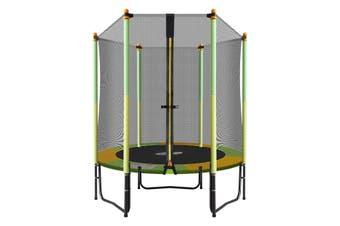 Genki 55 inch  Round Outdoor Indoor Mini Trampoline with Safety Enclosure 80KG