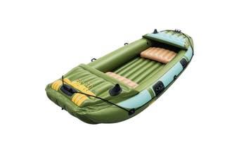 Bestway 3.16m 3 Person Inflatable Boat Dinghy Raft Fishing Tender Set