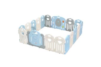 Toddler Playpen Baby Fence with Game Board