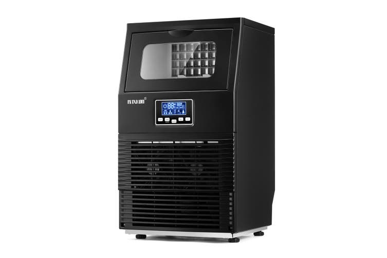 Maxkon Ice Maker Auto Cleaning With LCD Display Home and Commercial Ice Cube Maker Machine