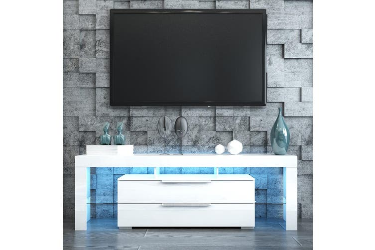 Modern Led Tv Stand Cabinet, Entertainment Armoire For Flat Screen Tv
