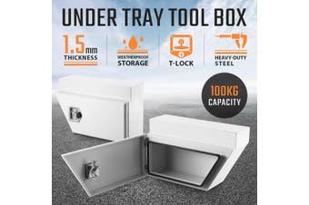 Underbody Truck Tool Boxes Storage   White