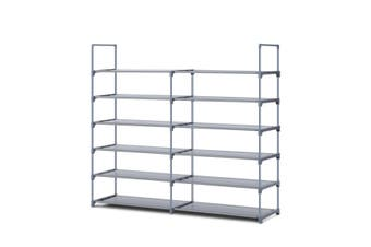 6 Tier Shoe Rack Storage Organiser Self   36 Pairs