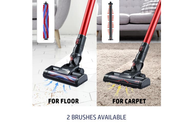 MAXKON 2 in 1 Cordless Chargeable Vacuum Cleaner Mop