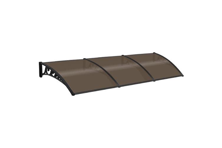 Brown Rain Proof Shade Rain Cover Canopy Awning  3M