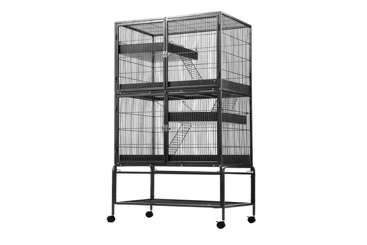 Multi tiered Small Pet Cage for Indoors and Outdoors