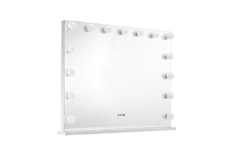 15 Led Lights Vanity Mirror, Vanity Mirror With Lights Frameless