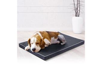 Memory Foam Pet Dog Bed Mattress Waterproof Soft Puppy Cat Mat Pad Cushion 90x60cm