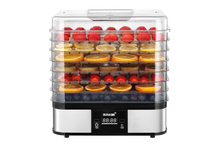Digital Food Dehydrator Fruit Meat Vegetable Dryer Beef Jerky Maker with 7 Trays