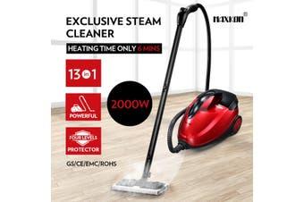 Maxkon 1.5L Steam Cleaner Mop 13 in 1 High Pressure Floor Window Carpet Steamer