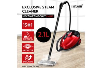 Maxkon 2.1L Steam Cleaner Mop 13 in 1 High Pressure Floor Window Carpet Steamer