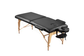 Adjustable 75cm Full Body Massage Bed Beauty Treatment Bed with Carrying Bag