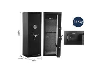 20 Gun Electronic Storage Locker Safe for Rifle Firearm with Internal Security Box