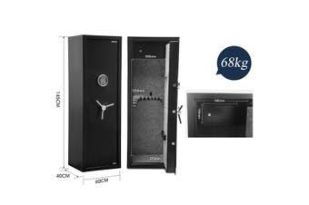 14 Gun Electronic Storage Locker Safe for Rifle Shotgun Pistol with Internal Security Box