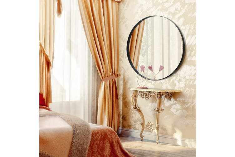 Large Round Mirror Decorative Wall Mirror 60cm